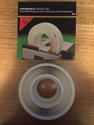 Hanimex 120 Rondex Slide Carousel Projector Magazine Excl  - Cassette Cartridge
