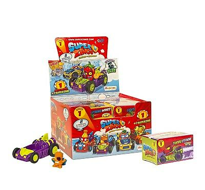 SUPERZINGS Set Completo BOX 12 SUPERCAR ORIGINALE Rivals of Kaboom Serie 1