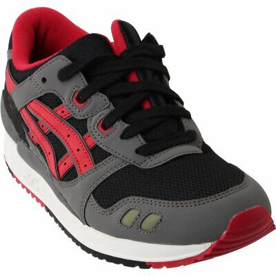 free shipping c89c9 873fc ASICS GEL-LYTE III Grade School - Black;Red - Boys
