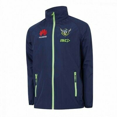 2018 Canberra Raiders Mens Wet Weather Jacket