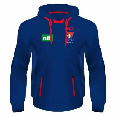 2018 Newcastle Knights Mens Squad Hoody