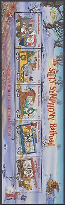 S215. Grenada - MNH - Cartoons - Disney's - Characters - Trains - Christmas