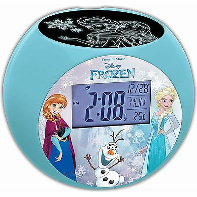 DISNEY FROZEN PROJECTOR ALARM CLOCK NEW by LEXIBOOK
