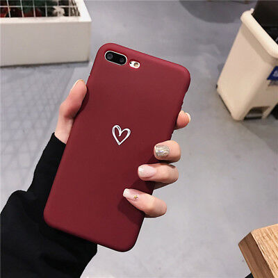 Case for iPhone 8 7 Plus XR XS MAX ShockProof Soft Phone Cover TPU Silicone UK