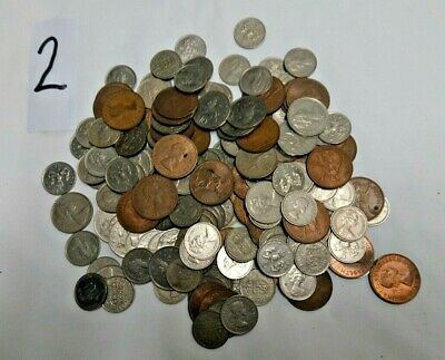 Job lot of Old/Foreign Coins (Set 2)
