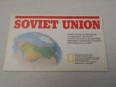 1990 Map Of Soviet Union National Geographic (34)