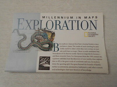 1998 Map Of Millennium In Maps Exploration National Geographic (3)