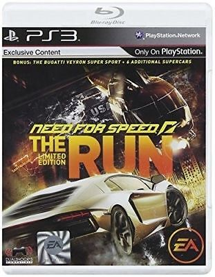 Need for Speed: The Run (Limited Edition) PlayStation 3 - Racing Game - EA Games
