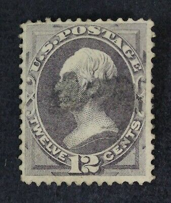 CKStamps: US Stamps Collection Scott#151 12c Used Tiny Thin Light Crease CV$220