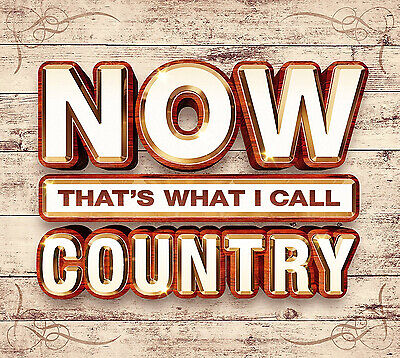 Now That's What I Call Country CD Boxset NEW
