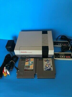 Nes Nintendo System  New 72 Pin Connector 2 Games & All Hoockups