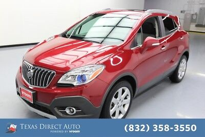 2015 Buick Encore Premium Texas Direct Auto 2015 Premium Used Turbo 1.4L I4 16V Automatic FWD SUV Bose