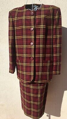 Tailleur Giacca e Gonna Anni 80 Vintage Made in Italy
