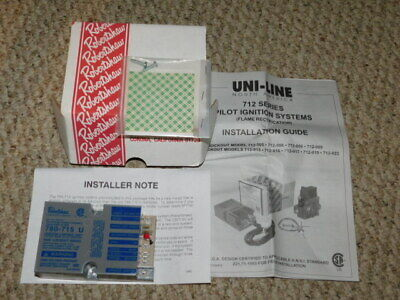 Unused / Boxed 780-715U Robertshaw Ignition Unit / Flame Rectification System