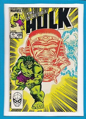Incredible Hulk #288_October 1983_Fine+_Modok_Abomination_Bronze Age Marvel!