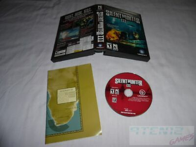 Silent Hunter III - PC DVD Computer game + Case / Map