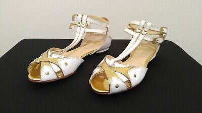 b07274e94767a1 NEW COLE HAAN Womens FINDRA STRAPPY SANDAL II White Leather Flat ...