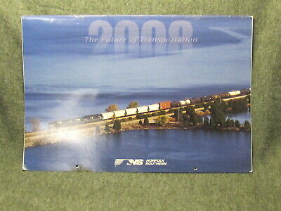 2008 Large Norfolk Southern Railroad Picture Calendar - Great Train Photos