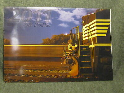 2011 Large Norfolk Southern Railroad Picture Calendar - Great Train Photos