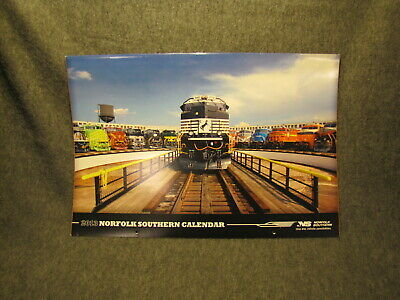 2013 Large Norfolk Southern Railroad Picture Calendar - Great Train Photos