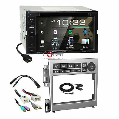 KENWOOD DVD USB BT Sirius Stereo AL Dash Kit Amp Harness for ... on