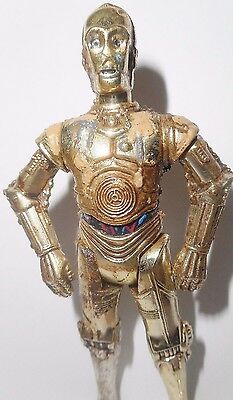 STAR WARS power of the force C-3PO tatooine desert wear flashback complete droid