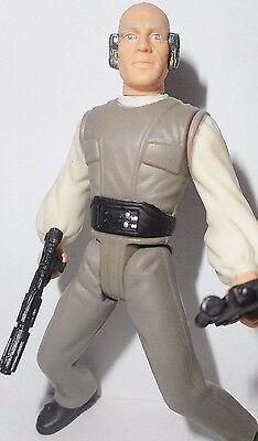 STAR WARS power of the force LOBOT 1998 lando bespin head of security complete