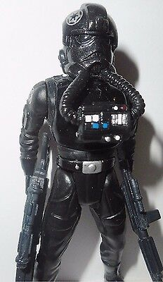 STAR WARS power of the force TIE FIGHTER PILOT 1996 complete potf kenner figures