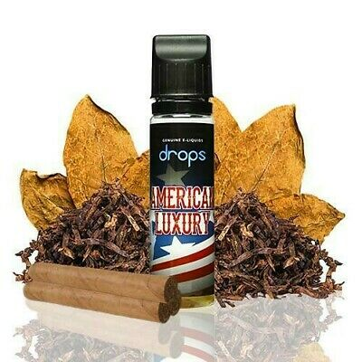 E-liquid DROPS American Luxury - 50ml - 0mg - BOOSTER - ejuice vaper eliquid