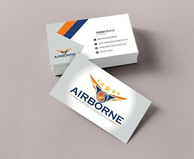 100 Business Visiting Cards custom Single / Double Sided Laser Printing