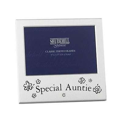 Shudehill Giftware Special Auntie 5 X 35 Photo Picture Frame New Boxed 73500