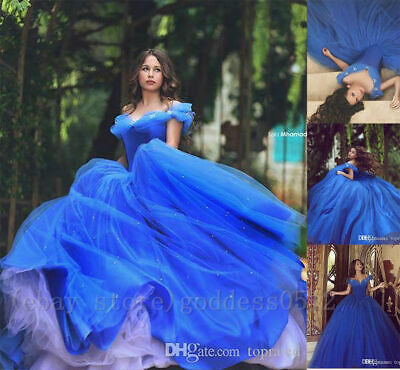 0f840a3ce6 Princess off Shoulder Quinceanera Dresses Pageant Cosplay Party Prom Fancy  Gowns