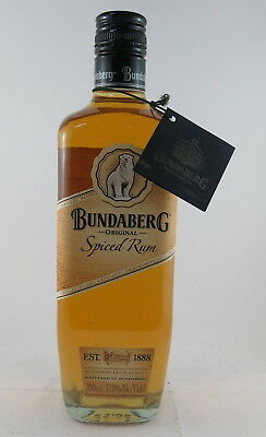 Bundaberg Rum Spiced Rum  Bottle The Original Release Full Mint With Tag