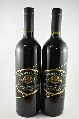 2 x Summerfield Moonambel Reserve Shiraz 2000, 9/10 Vintage RRP $90 Each