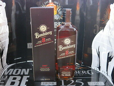 Bundaberg Rum Aged 8 Years 2007 Release Boxed Full Sealed Mint Condition