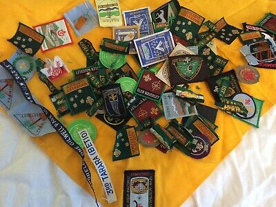 vintage 1970s-80s scout cloth badges mixed lot mostly Australian
