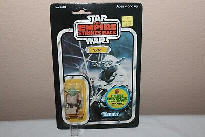Star Wars Vintage 1982 Yoda 48 Back Kenner Moc Revenge Offer Afa Him Wow!!