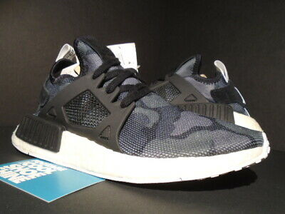 75aee1bad9bf9 2016 Adidas Nmd Xr1 Duck Camo Pack Core Black White Grey Ba7231 New 6.5