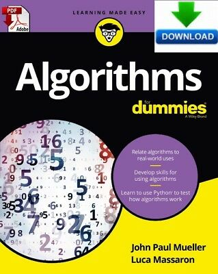 Algorithms For Dummies - Read on PC, Phone or Tablet - Fast PDF DOWNLOAD