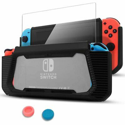 For Nintendo Switch Transparent Shockproof Protective Soft TPU Case Cover Kits