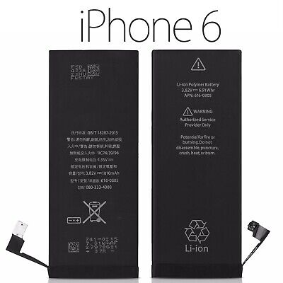 BATTERIA PER APPLE IPHONE 6 1810mAh RICAMBIO PARI  ALL ORIGINALE