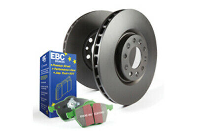 EBC Brakes Greenstuff Pad and OE Replacement Disc kit [PD01KF105]