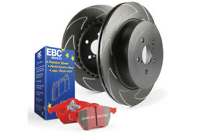 EBC Brakes Redstuff Pad and BSD Slotted Disc Kit [PD17KR020]