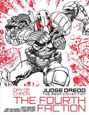"""2000AD: JUDGE DREDD THE MEGA COLLECTION - Part 49 - """"THE FOURTH FACTION""""  - OOP"""