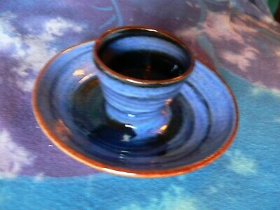 Wold Studio Pottery Yorkshire Blue Eggcup