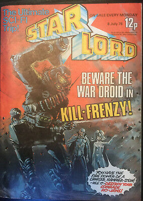 STARLORD - Issue 9 - JULY 1978 (Pre 2000AD ft JUDGE DREDD) - EXCELLENT CONDITION