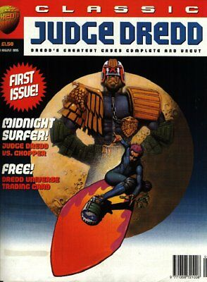 2000AD ft JUDGE DREDD - CLASSIC JUDGE DREDD SET - 1995 - VERY GOOD - PLUS GIFTS
