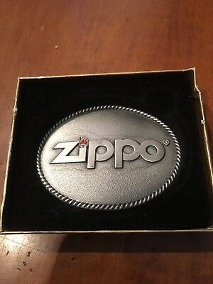 Discontinued MIB New ZIPPO belt buckle- Great collectible