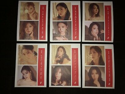 "APINK ""PERCENT"" Album Message Card Photocards *Member Select*"