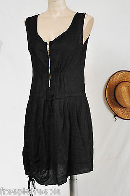 a2baa968bf2 ROBE NOIRE LIN taille 40 42 ref 0315361 - EUR 14